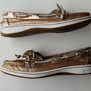 Coach Shoes Boat Sperry Style Size 6.5